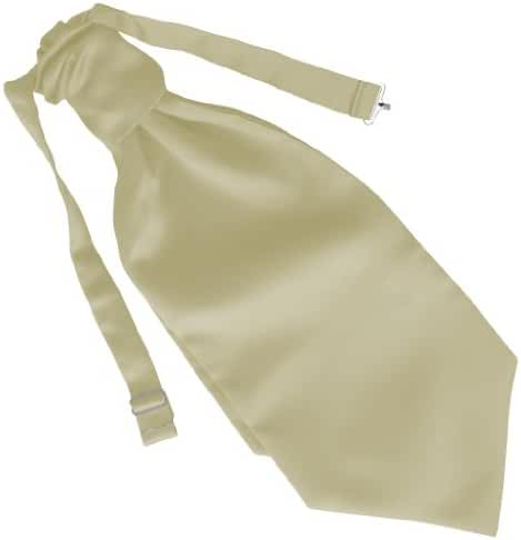 Men's Satin Wedding Ruche Cravats
