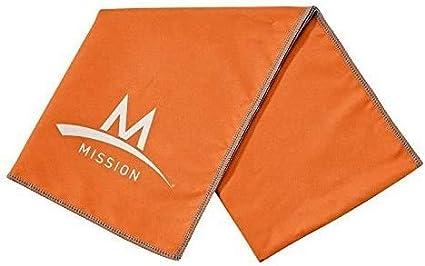 "MISSION~ENDURACOOL Microfiber Cooling Towel Lg 12/""x33/"" BALTIMORE ORIOLES~ L20"