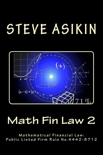 Math Fin Law 2: Mathematical Financial Law: Public Listed Firm Rule No.4442-8712