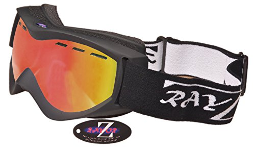 2014 Rayzor Professional UV400 Double Lensed Ski / SnowBoard Goggles, With a ...