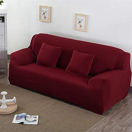Tejido elástico de alta calidad: 100% Poliéster, según el contorno del sofá. La tela es súper suave