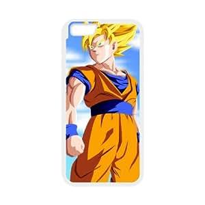 Goku Goku iPhone 6 Plus 5.5 Inch Cell Phone Case White DIY Gift pxf005-3572483