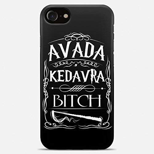 Inspired by Harry potter phone case Harry potter iPhone case 7 plus X 8 6 6s 5 5s se Harry potter Samsung galaxy case s9 s9 Plus note 8 s8 s7 edge s6 s5 s4 note gift art cover avada kedavra bitch