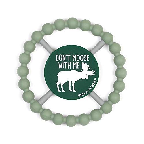 Bella Tunno Teether, Don't Moose with Me, Green