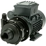 Finish Thompson DB5V-T-M613 Centrifugal Magnetic Drive Pump, PVDF, 1/4 HP, 115V, 1 Phase, 35.2 Max Feet of Head, 19.4 gpm