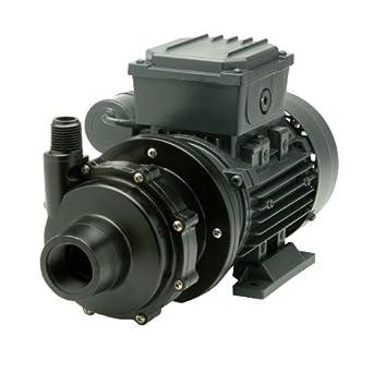 Finish Thompson DB5V-T-M613 Centrifugal Magnetic Drive Pump, PVDF, 1/4 HP, 115V, 1 Phase, 35.2 Max Feet of Head, 19.4 gpm