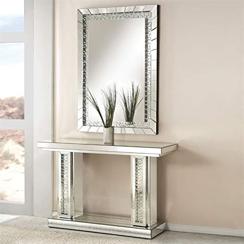Acme Furniture 97386 Nysa Accent Wall Mirror by Acme Furniture (Image #4)