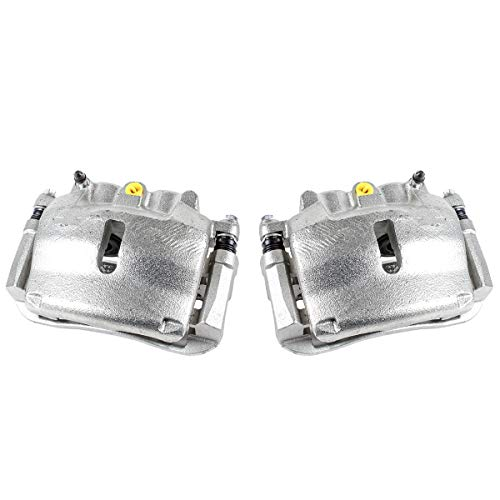 CKOE00981 [ 2 ] FRONT [ 2WD 4WD ] Premium Grade OE Semi-Loaded Caliper Assembly Pair - Brake Caliper Ford F150