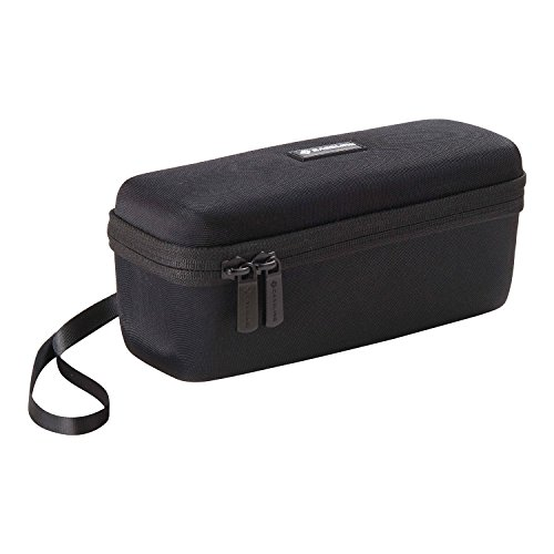 Caseling Hard Case for TaoTronics TaoTronics Boom X Stereo 20W Wireless Portable Bluetooth Speakers. - Mesh Pocket for Cables.