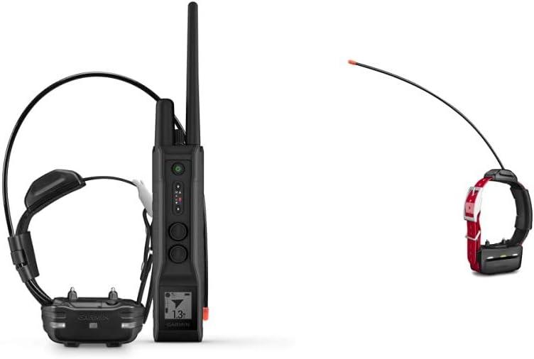Garmin Pro 550 Plus/TT 15 Mini Dog Device Bundle, Dog Training System with Simple GPS Tracking, Collar and Handheld & TT 15 Mini Dog Device