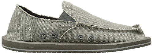 Mens Di Vacuo Di Sanuk Slip On Grey