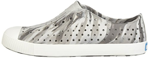Native Kids Marbled Jefferson Water Proof Shoes, Dublin Grey/Shell White/Marbled, 5 Medium US Big Kid by Native Shoes (Image #5)