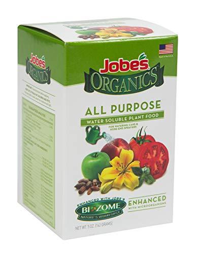(Jobe's Organics 08255 All Purpose Water Soluble Plant Food, 5 oz)