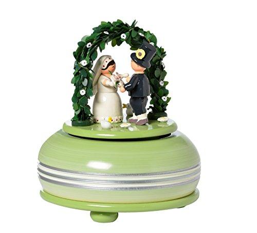 魅力的な 演劇箱の小さい結婚式の祭典のメロディー: 結婚式 march/18er の仕事 cm 15 cm 15 の仕事 の演劇の時計のオルゴール Erzgebirge B01BPK8I4I, アメリカン雑貨 ベリーベリー:38b42cde --- arcego.dominiotemporario.com