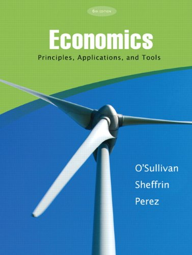 Economics: Principles, Applications and Tools (6th Edition) -  O'Sullivan, Arthur, Paperback