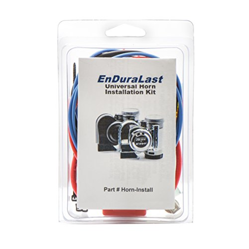 EnDuraLast Universal Installation Kit for Motorcycle & ATV Air Horns
