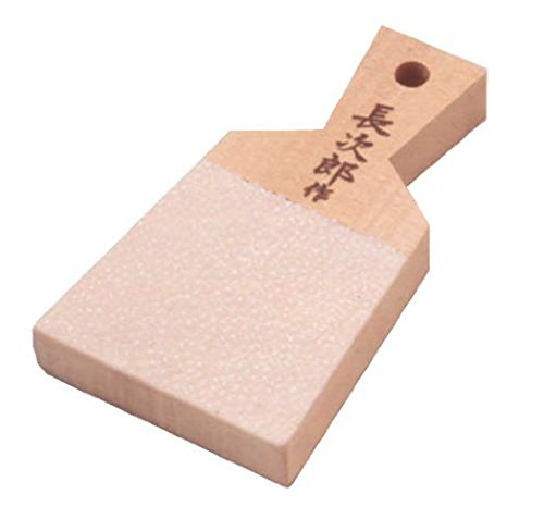 Chojiro (Small) Japanese Shark Skin Grater for Fresh Wasabi & Ginger From Japan ;TM79F-32M UGBA552546 (Japan Grater)