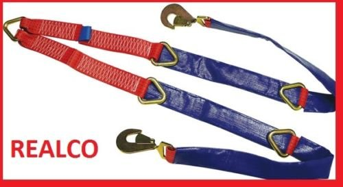 Fixed Winch Brother Straps for Recovery Vehicles Realco Equipment