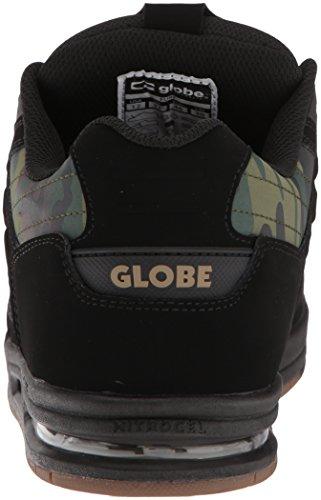Globe Mens Fury Skate Shoe Nero Camo