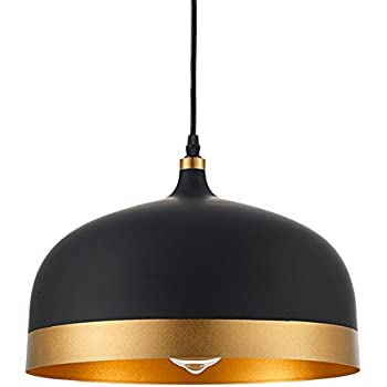 Ohr Lighting Lisse Saturn Gold Amp Black Pendant Light Lamp