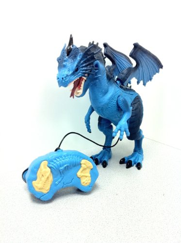 Mighty Megasaur Remote Control Dragon - Colors May Vary (Control Dragon)