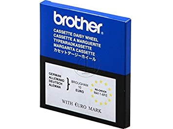 Brother M41108FE - Rueda de Margarita Adecuado para Brougham 10 en caseta de Cambio rápido, Color Negro: Amazon.es: Oficina y papelería