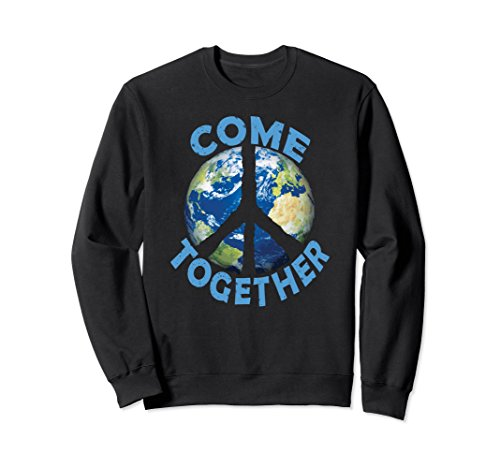 Peace Sign Kids Sweatshirt - 3