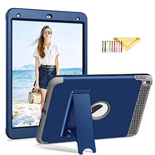 - iPad Air 3 Case 2019 A2152/A2123/A2153, iPad Pro 10.5 Inch 2017 A1701/A1709, Cookk [Honey Comb Series] Heavy Duty Magnetic Stand 3-in-1 Shockproof Hybrid Protective Cover for iPad 10.5