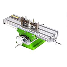 AMYAMY Multifunction Worktable Milling Working Cross Table Milling Machine Compound Drilling Slide Table For Bench Drill Adjustme X-Y (6330 SIZE)