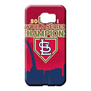 samsung galaxy s6 First-class Scratch-proof Snap On Hard Cases Covers phone carrying covers st. louis cardinals mlb baseball