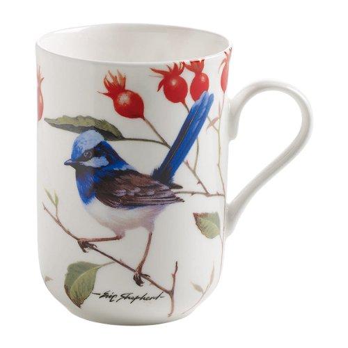 Birds Of Australia Eric Shepherd Mug (Blue Wrens) (Best Small Microwave Australia)