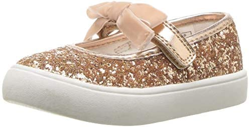 Carters Kids Cartes Girls Angelyn Rosegold Casual Maryjane Mary Jane Flat Carter/'s CF180452