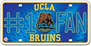 NCAA #1 Fan Metal Auto Tag
