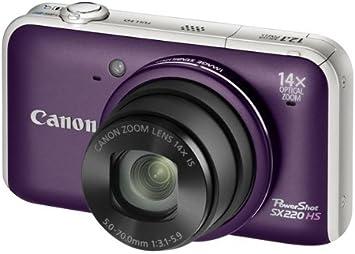 Canon PowerShot SX220 HS - Cámara Digital Compacta 12.1 MP ...