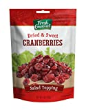 Fresh Gourmet Cranberries, Dried & Sweet, 4 Ounce (Pack of 9) For Sale
