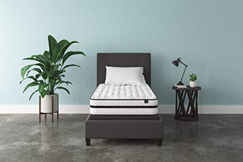 Ashley Furniture Signature Design - 10 Inch Chime Express Hybrid Innerspring Mattress - Bed in a Box - Twin - White