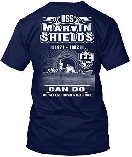 (Sigma Fores- USS Marvin Shields ff-1066 - T-Shirt - Get It Now! Navy)