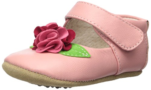 Livie & Luca Girls' Rosa, Light Pink, 6-12 M US (Light Pink Leather Footwear)