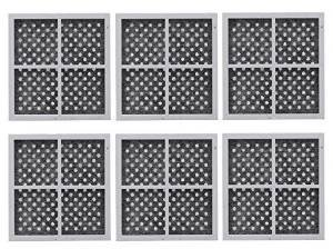 6 Pack Replacement, Refrigerator Air Filter to LG LT120F, AD