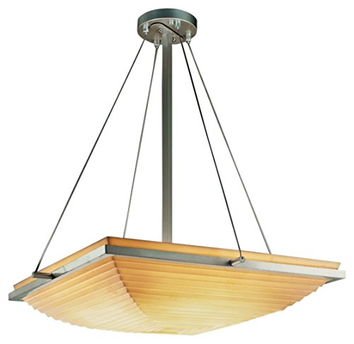 Justice Design Group Lighting PNA-9791-25-SAWT-NCKL-LED3-3000 Porcelina-Ring 20