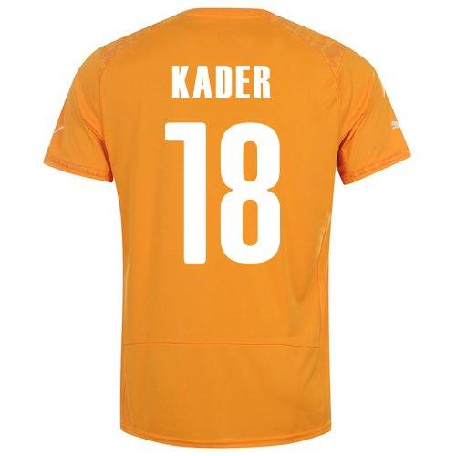 アンソロジーわかる解任PUMA KADER #18 IVORY COAST HOME JERSEY WORLD CUP 2014/サッカーユニフォーム コートジボワール ホーム用 ワールドカップ2014 背番号18 カデル