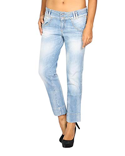 MELTIN'POT - Women's Jeans ILYAN - Length 26 - Blue, W28