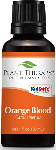 Plant Therapy Orange Blood Essential Oil 30 mL  100% Pure, U