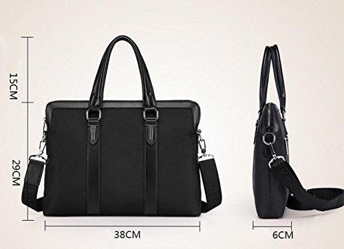 Briefcase Fashion Business Handbag Brown1 Messenger Men Computer Leisure Wild Bag 6wtqn47