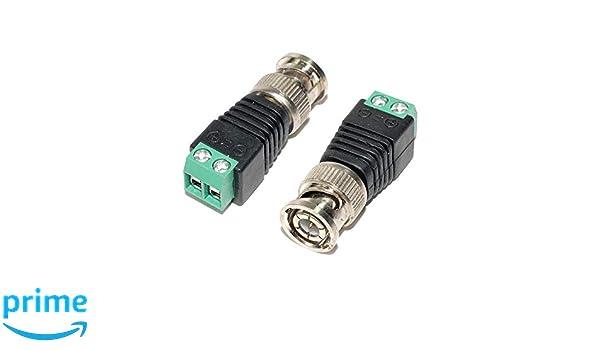 Amazon.com: AEcreative 2pcs Quick Connect BNC Wire Antenna ...