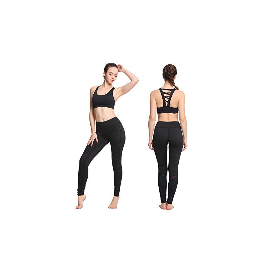Yoga Capri Leggings Tights New 2017 Squat Proof Leggings Workout Running Pants Women's Active Wear Gym Fitness Power Girl io