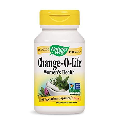 Nature's Way Change-O-Life® Women's Health 7 Herb Blend, 100 Vcaps (Packaging May Vary)