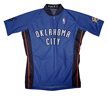 NBA OKLAHOMA CITY THUNDER camiseta de manga corta de ciclismo Jersey - OLP1001, Azul: Amazon.es: Deportes y aire libre
