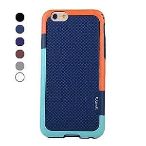 Mini - Colorful Design TPU Soft Cover for iPhone 6 , Color-Blue