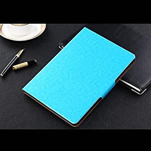 HPT iPad Air 2 compatible Solid Color PU Leather Smart Covers/Origami Cases